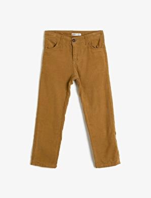 Koton Kids Cep Detaylı Pantolon